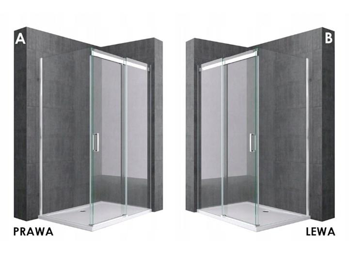 PRZESUWNA KABINA PRYSZNICOWA PORTO  8mm Rodzaj drzwi Rozsuwane Wysokość 195 cm Kategoria Kabiny prysznicowe