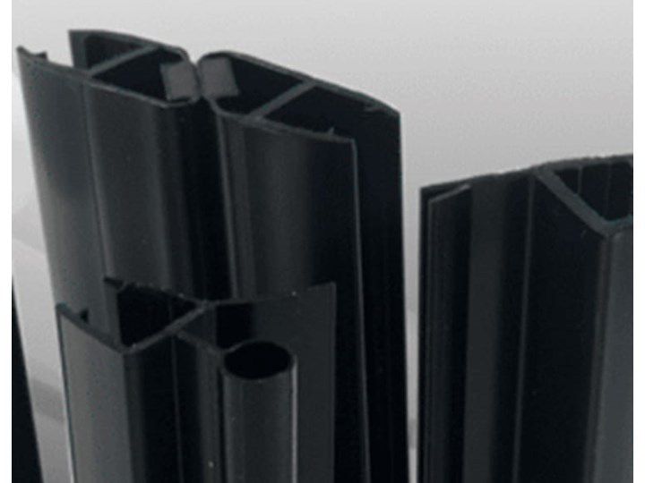 VELDMAN CZARNE PROFILE KABINA B173 8mm ROZMIAR DO WYBORU Kwadratowa Wysokość 194 cm Kolor Czarny Kategoria Kabiny prysznicowe