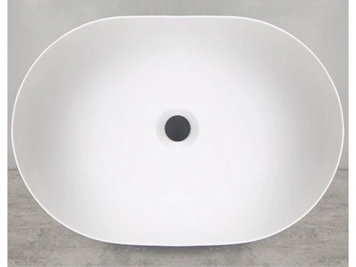 VELDMAN UMYWALKA ANNA SLIM CIENKIE KRAWĘDZIE Szerokość 48 cm Nablatowe Meblowe Ceramika Owalne Kategoria Umywalki