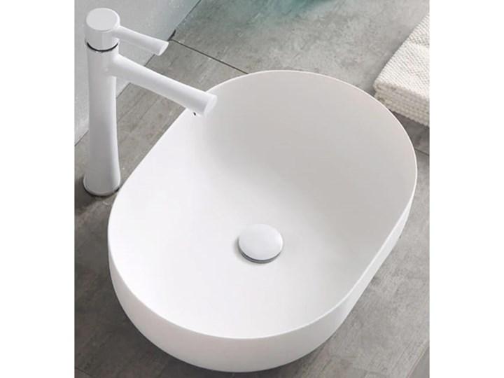 VELDMAN UMYWALKA ANNA SLIM CIENKIE KRAWĘDZIE Ceramika Meblowe Owalne Szerokość 48 cm Nablatowe Kategoria Umywalki