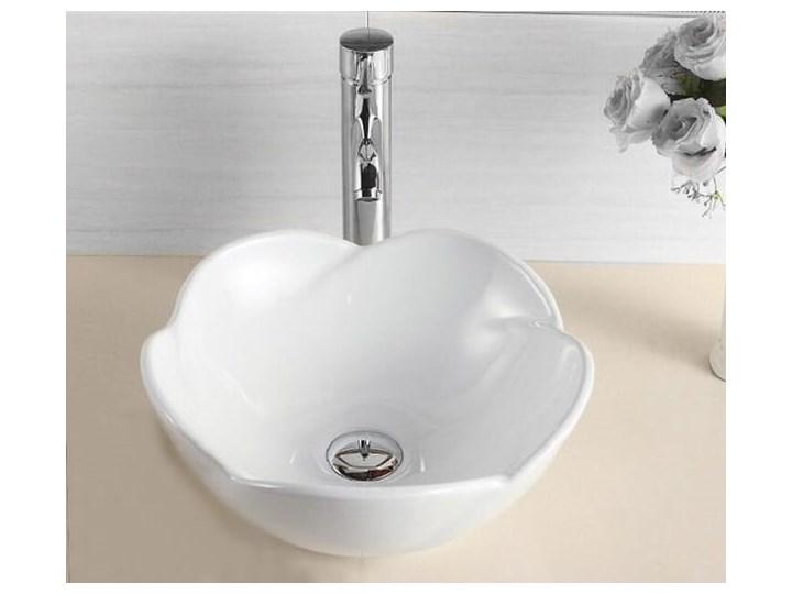 VELDMAN UMYWALKA CERAMICZNA ROSE Ceramika Meblowe Szerokość 40 cm Asymetryczne Nablatowe Kategoria Umywalki