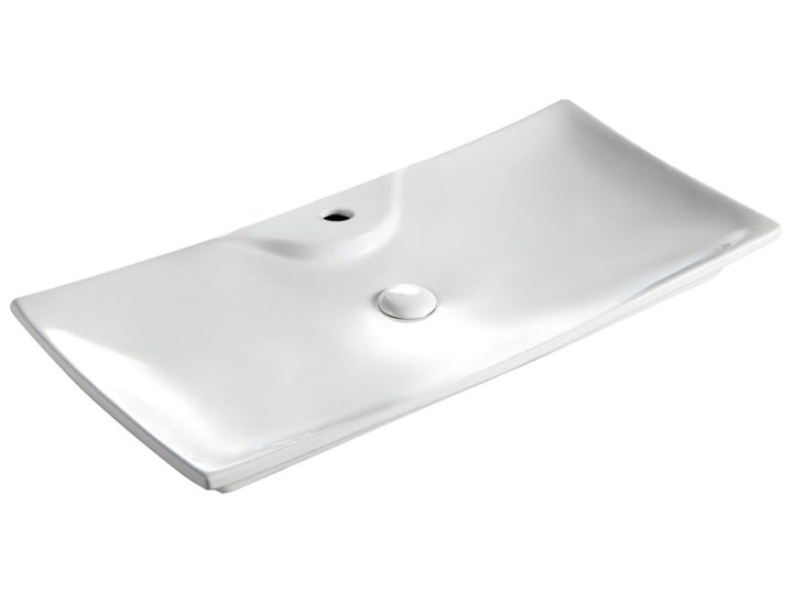 VELDMAN UMYWALKA CERAMICZNA AMADO 80cm Szerokość 80 cm Nablatowe Meblowe Ceramika Kategoria Umywalki