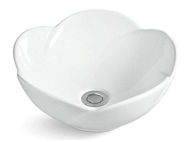 VELDMAN UMYWALKA CERAMICZNA ROSE Szerokość 40 cm Ceramika Meblowe Nablatowe Kategoria Umywalki