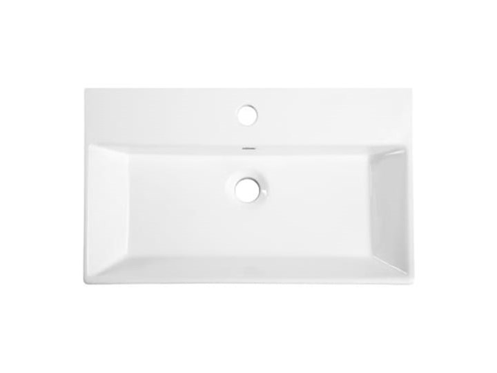 VELDMAN UMYWALKA NABLATOWA QUADRO Meblowe Ceramika Szerokość 60 cm Nablatowe Kategoria Umywalki