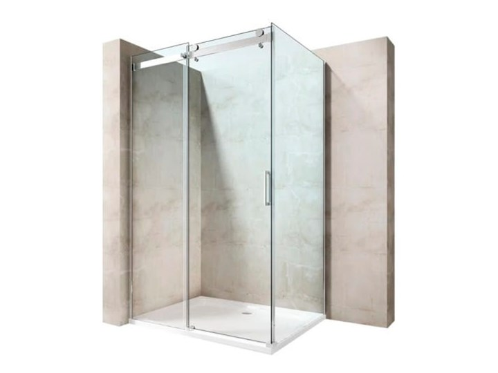 VELDMAN PRZESUWNA KABINA PRYSZNICOWA MONTANA 8mm Wysokość 190 cm Rodzaj drzwi Rozsuwane Kategoria Kabiny prysznicowe