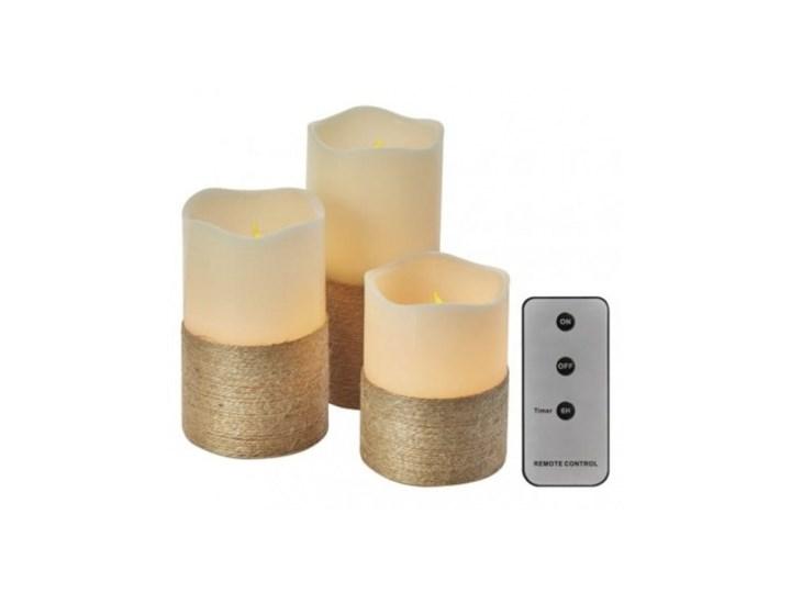 ZY2141 - EMOS - DEKORACJA ŚWIĄTECZNA - ŚWIECZKI LED Z PILOTEM, kpl. 3szt, 9x AAA, timer WYSYŁKA 24 H Świeca Kategoria Świeczniki i świece