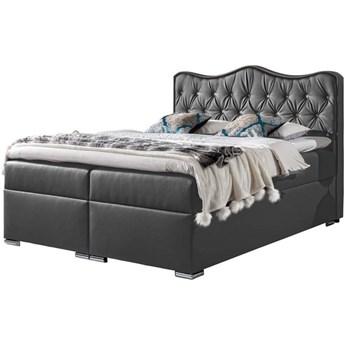 Łóżko kontynentalne 140x200 SUŁTAN / z pojemnikiem