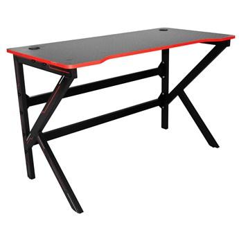 Czarne biurko dla gracza - Edos 3X