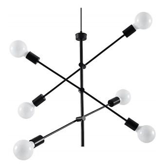 Żyrandol na lince CONCEPT 6xE27/60W/230V