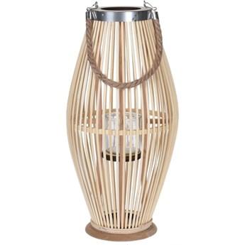 Lampion bambusowy wys. 40 cm