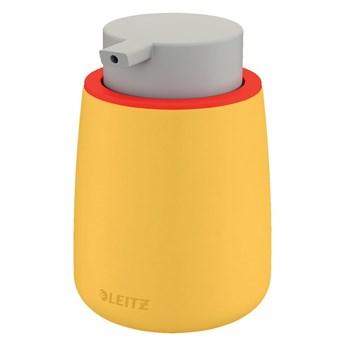 Żółty ceramiczny dozownik do mydła Leitz Cosy