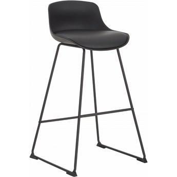 Krzesło barowe ze sztucznej skóry Tina, 2 szt.