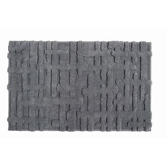 Dywanik łazienkowy Sorema Gaufre Magnetic Grey