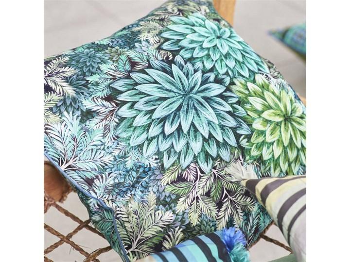 Poduszka dekoracyjna Designers Guild Madhya Azure 55x55 cm Len Kategoria Poduszki i poszewki dekoracyjne