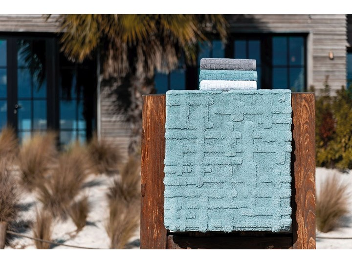 Ręcznik bawełniany Sorema Gaufre Baltic 95x150 cm 70x140 cm Bawełna Ręcznik kąpielowy Komplet ręczników 50x100 cm Ręcznik z kapturkiem 30x50 cm Kategoria Ręczniki