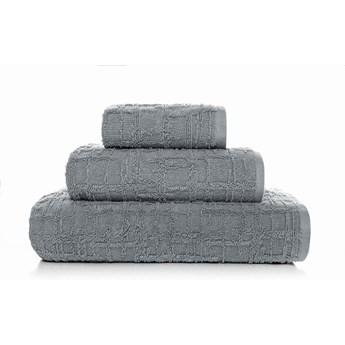 Ręcznik bawełniany Sorema Gaufre Magnetic Grey