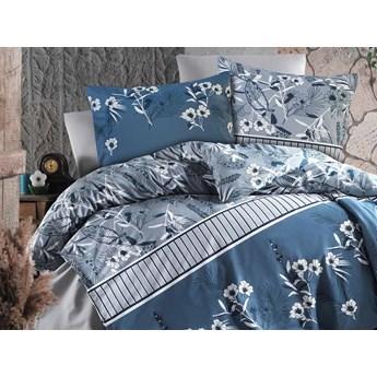 Darymex Pościel bawełniana 160x200 Cottonlove Exclusive Burrell Navy Blue