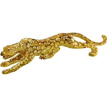 Złota figurka Gepard 98x20x13 cm