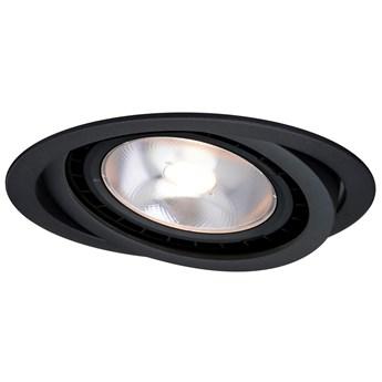 Nero oczko podtynkowe ruchome czarne LP-4424/1RS BK movable