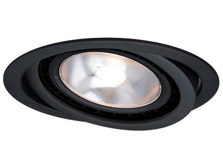 Nero oczko podtynkowe ruchome czarne Oprawa stropowa Kolor Czarny