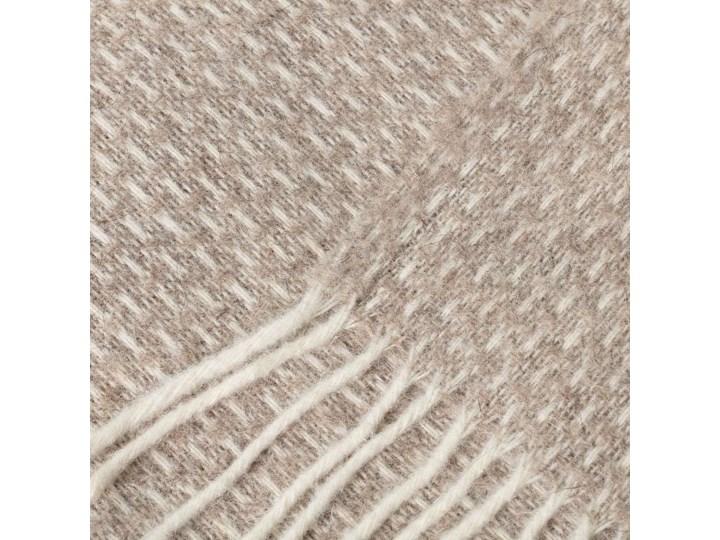 Pled Zelandia 140x200cm natural, 140 x 200 cm 130x180 cm 140x200 cm Koc Wełna Kategoria Koce i pledy