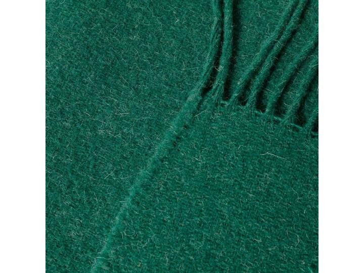 Pled Zelandia 140x200cm melange deep green, 140 x 200 cm 130x180 cm Koc Wełna 140x200 cm Kolor Zielony