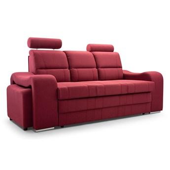 Sofa Mars rozkładana z pufami i z zagłówkami