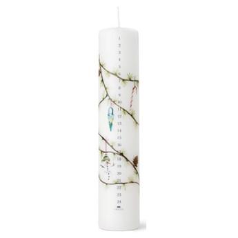 Świąteczna świeca Hammershøi z kalendarzem, Kähler