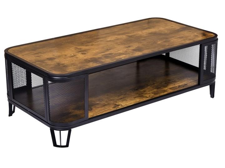 Stolik loftowy kawowy Sargot Płyta meblowa Stal Wysokość 60 cm Wysokość 40 cm Ława Kategoria Stoliki i ławy