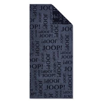 Ręcznik frotte granatowy JOOP! Repeat 1984