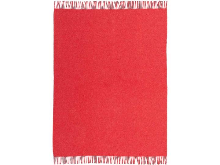 Pled Zelandia 140x200cm melange red, 140 x 200 cm Koc 130x180 cm Wełna Pomieszczenie Salon 140x200 cm Pomieszczenie Sypialnia