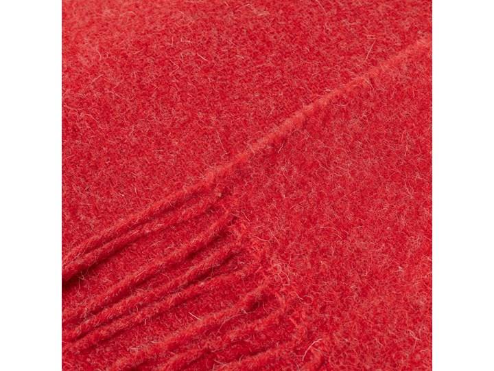 Pled Zelandia 140x200cm melange red, 140 x 200 cm 130x180 cm 140x200 cm Wełna Koc Kategoria Koce i pledy