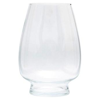 Wazon szklany świecznik