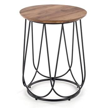 Stylowy stolik kawowy Okrągły Industrialny INFINITY