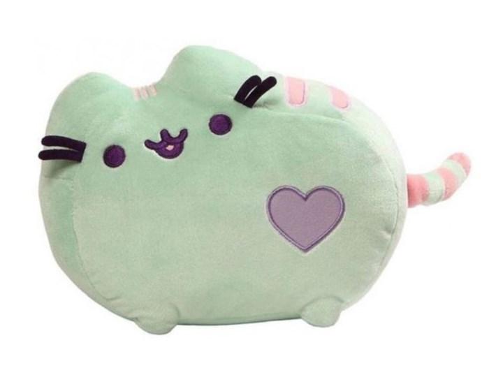 Przytulanka Pusheen - pluszowa maskotka (Heart Pusheen) jasna zieleń