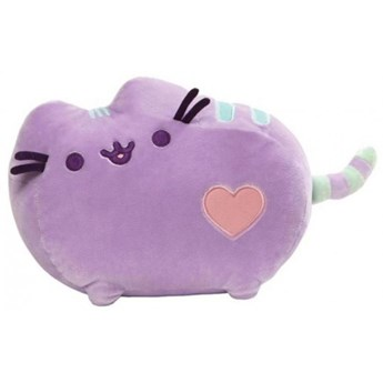 Przytulanka Pusheen - pluszowa maskotka (Heart Pusheen)pastelowy fiolet