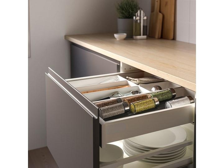 IKEA UPPDATERA Uchwyt na przyprawy, antracyt, 20x50 cm Tworzywo sztuczne Kategoria Przyprawniki