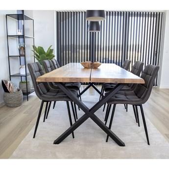 SELSEY Stół Lemucto dąb olejowany 160x95 cm