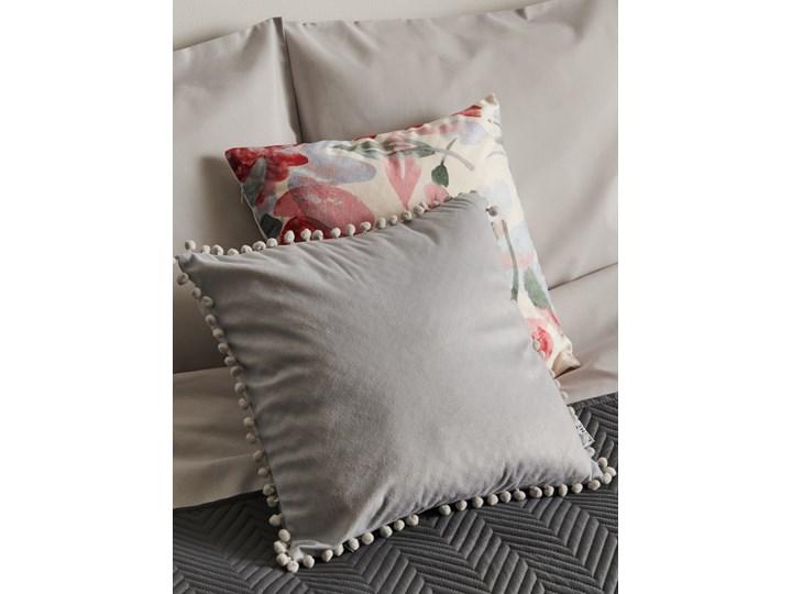Sinsay - Poszewka na poduszkę - Jasny szary 40x40 cm Kwadratowe Poszewka dekoracyjna Pomieszczenie Salon