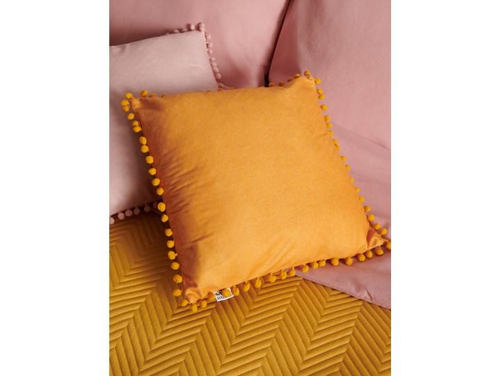Sinsay - Poszewka na poduszkę - Żółty 40x40 cm Poszewka dekoracyjna Kwadratowe Kolor Pomarańczowy