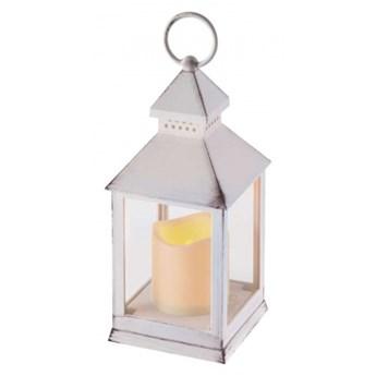 ZY2114 - EMOS - DEKORACJA ŚWIĄTECZNA - LAMPION LED ŚWIECZKA BIAŁA 24cm; 3xAAA, TIMER WYSYŁKA 24 H