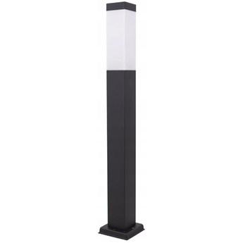 Primi H65 lampa stojąca słupek ogrodowa kwadrat czarna