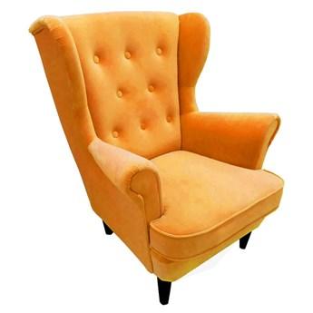 Mały wygodny fotel USZAK MINI 3 / kolory