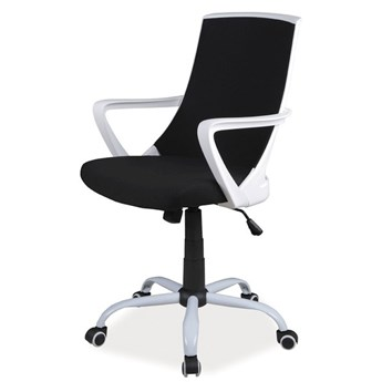 SELSEY Fotel biurowy Genner czarny