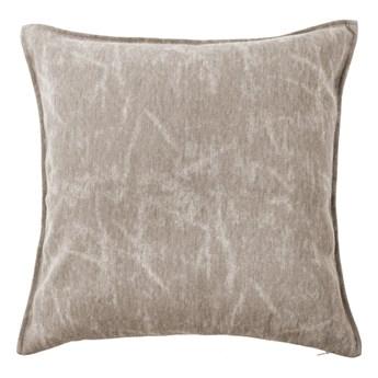 Beżowoszara poduszka dekoracyjna Tiseco Home Studio Chester, 44x44 cm