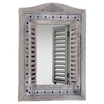 Lustro z okiennicami Lindsay 73 cm