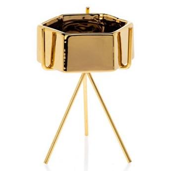 Doniczka Sashi Gold 16,5 cm