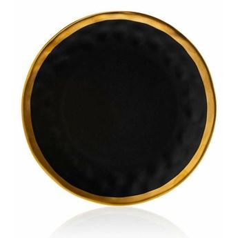 Talerz Lissa Black Gold 27 cm