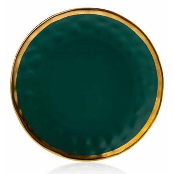 Talerz Lissa Green Gold 27 cm