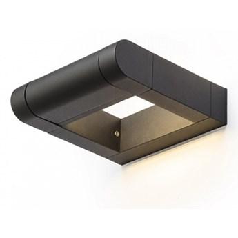 AQUE ścienna czarna matowa   230V LED 8W IP54  3000K kod: R12623